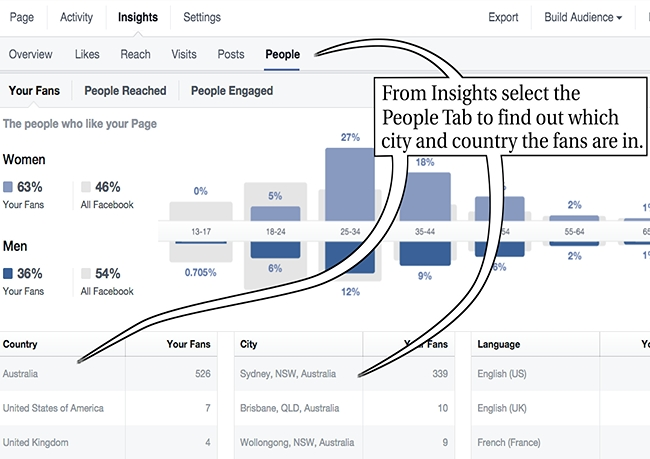 FB Pubs sydney insights people
