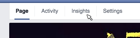 Facebook admin Insights Access